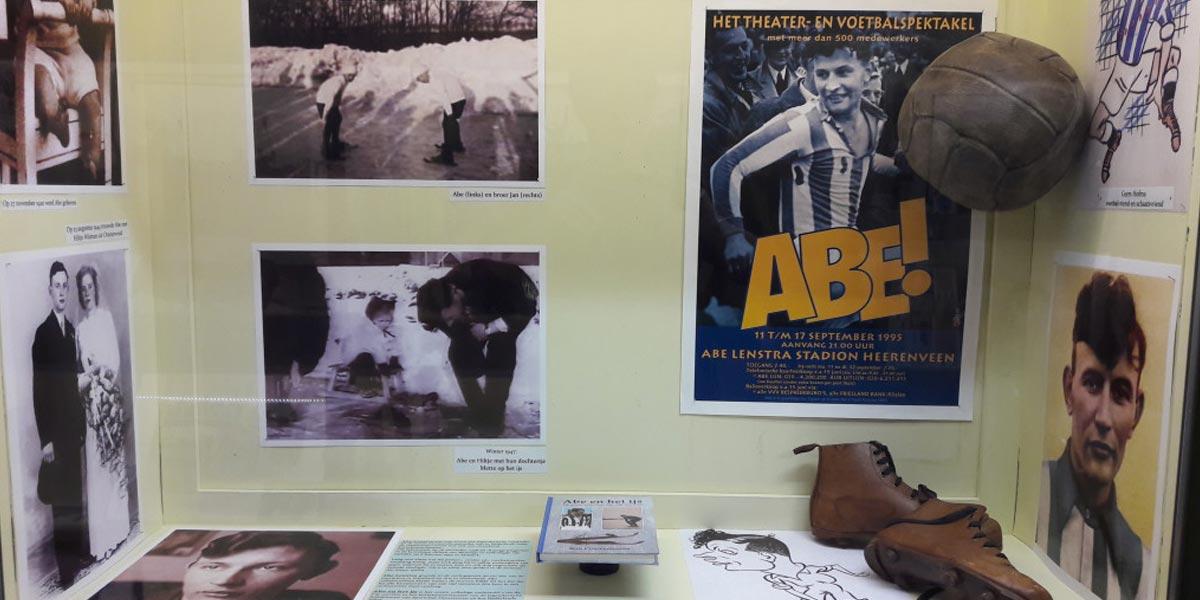 De schaatscarrière van Abe Lenstra
