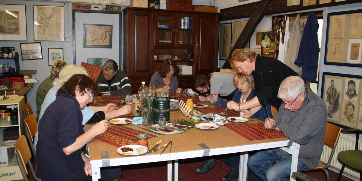 Workshop Hindelooper Schilderkunst