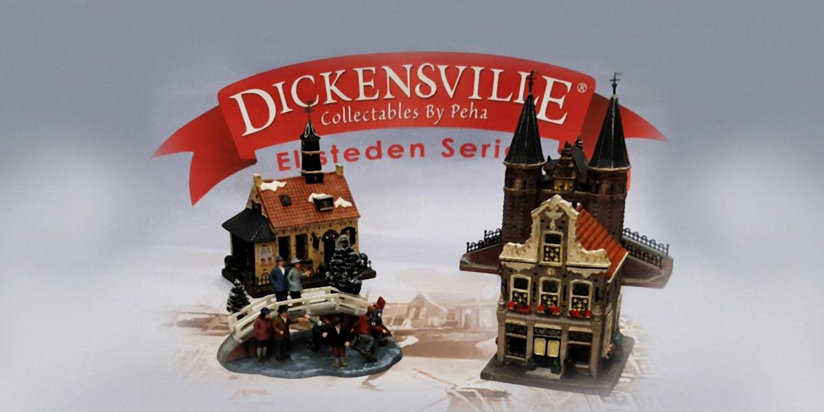 Elfsteden Dickensville Tentoonstelling