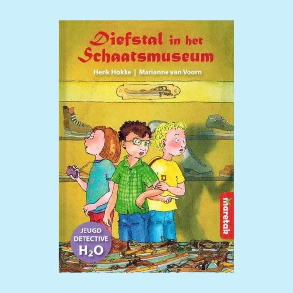 Diefstal in het Schaatsmuseum